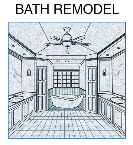 Remodel Bathroom Permit bathroom remodel - permit • drafting • solutions